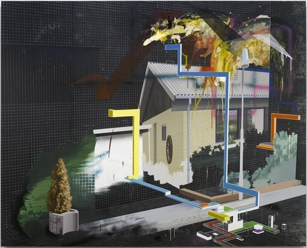 Ivan Andersen: One Step Beyond, 2008, 200 x 250 cm. Pressefoto.