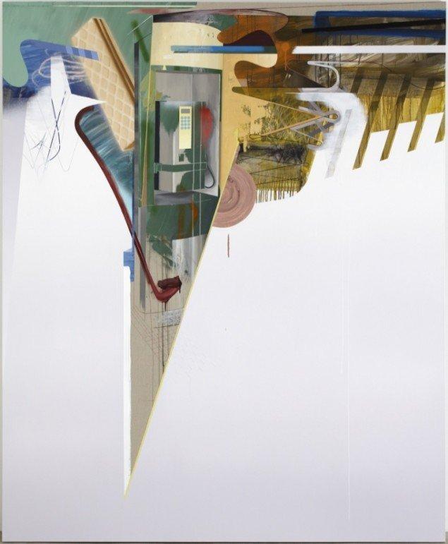 Ivan Andersen: Telephone call from Istanbul, 2011, 220 x 180 cm. Pressefoto.