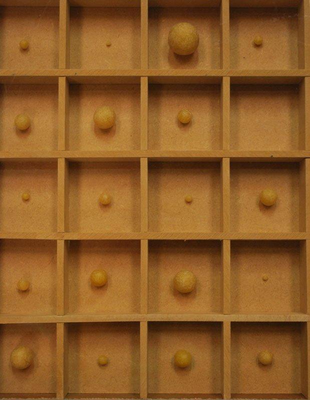Specimens of memories, montre, bord, voks, 2011 (pressefoto)