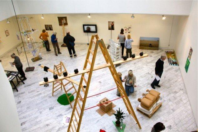 I Am the Measure, 2012. Installation view. I Am the Measure, Traneudstillingen indtil 8/12 2012. Foto: Aukje Lepoutre Ravn.