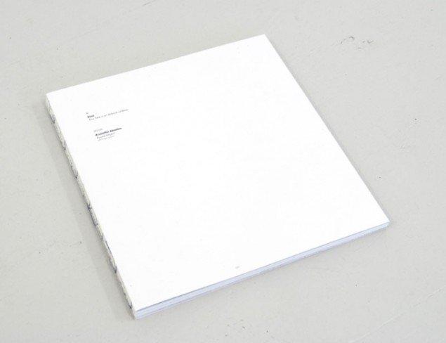Bogen, udstillingen, Pinds værktitel og Kristoffer Akselbos Found Object.
