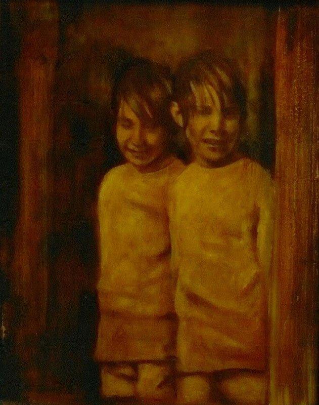 Timothy and Nicholas Mountbatten, Claire Moore, 2012. (Foto: Kunstneren)