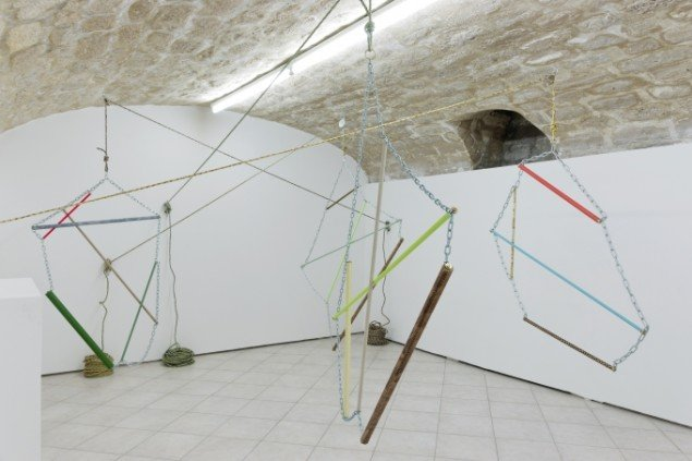 View af udstillingen Transatlantique på New Galerie i Paris 2013. Foto: Aurélien Mole