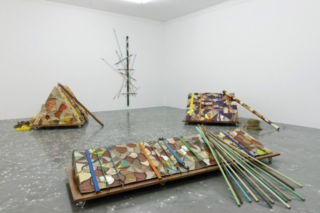Udstillingsview af udstillingen Transatlantique på New Galerie i Paris 2013. Foto: Aurélien Mole