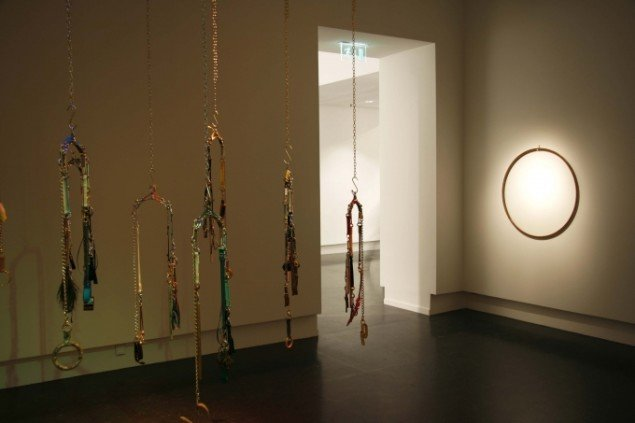 Installation view, Sense of Echoes, SKMU 2011.Foto: Marit Kvaale