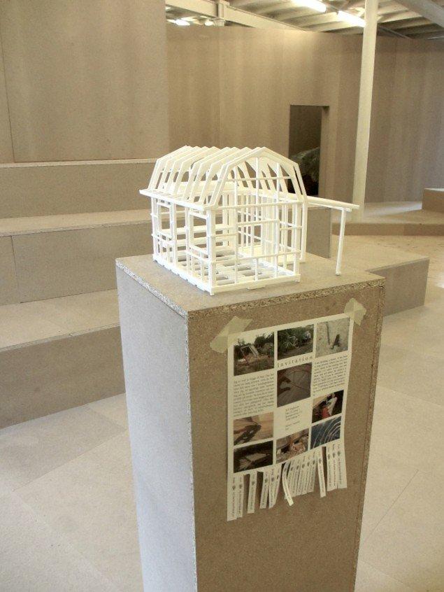 Tuk Bredsdorfs model til eget hus. Tag en snip og kontakt ham for at høre nærmere. Foto: Ole Bak Jakobsen