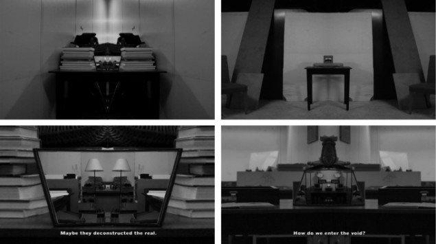 Michael Würtz Overbeck The kaleidoscopic structure of delusions (stills), 2011. Video, 7:37min. Fra soloudstillingen The elusiveness of being på OK Corral. Foto: Michael Würtz Overbeck