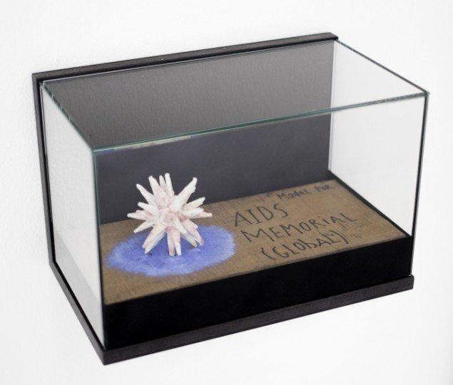 Letter to Rabi 2011-13. Detalje model til HIVAIDS Monument. Foto: Per Johansson.