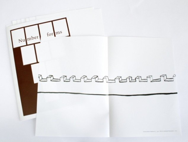 Ditte Lyngkær Pedersen: Artist Book: Why is Green a red Word? / plakat.