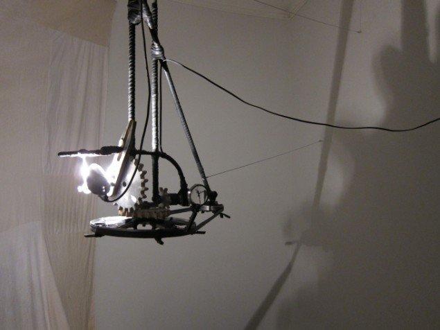Stine Gro: Orbital Projector. Pressefoto.