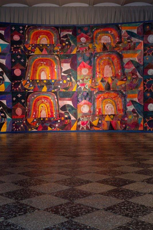 Alexander Tovborg Bocca Baciata, 2014. Installationsview. Foto: Anders Sune Berg