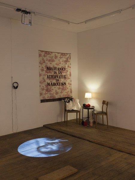 Patricia Kaersenhout: Stitches of Power. Stitches of Sorrow. På Possession. Art, Power and Black Womanhood, New Shelter Plan. Foto: Johan Rosenmunthe