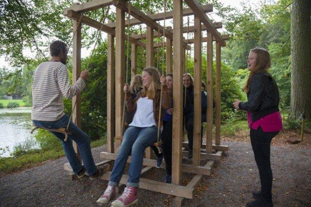 Molly Haslund: Swings. Foto: Jeanette Land Schou.