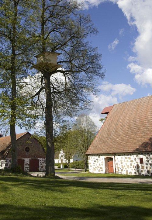 Tadashi Kawamata: Tree Hut Wanås. Foto: PR-foto/Wanås