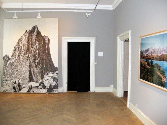 Udstillingsview med Gregor Grafs værker. Foto: Kristian Handberg.
