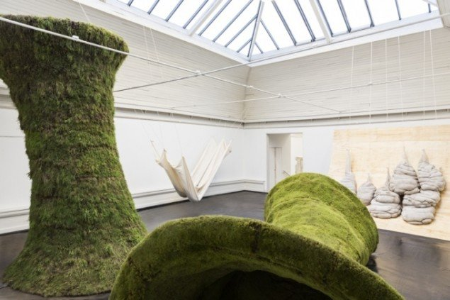 Installationsview fra udstillingen Carl Nielsen og Anne Marie Carl-Nielsens Legat 2014, 2014 på Den Frie indtil 4. januar 2015. Foto: Lior Zilberstein