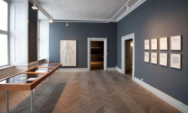 Installationsview, Modsmerte, 2012, Museet for Samtidskunst. (Foto: Maria Laub)