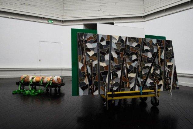 Maiken Bents installation på Den Frie. (Foto: Martin Kurt Haglund)