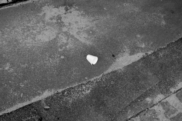 Tom Lovelace: Untitled Object, black and white photograph, 2013.