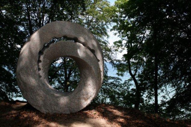 Keizo Ushio: Oushi Zokei 2009, Mobius in Space. Sculpture by the sea, Århus 2009. Foto: Per Plougmann Povlsen