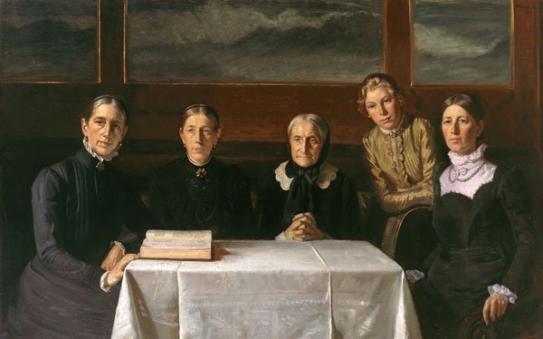 Michael Ancher: Juledag 1900. 1903, Foto: Skagens Museum