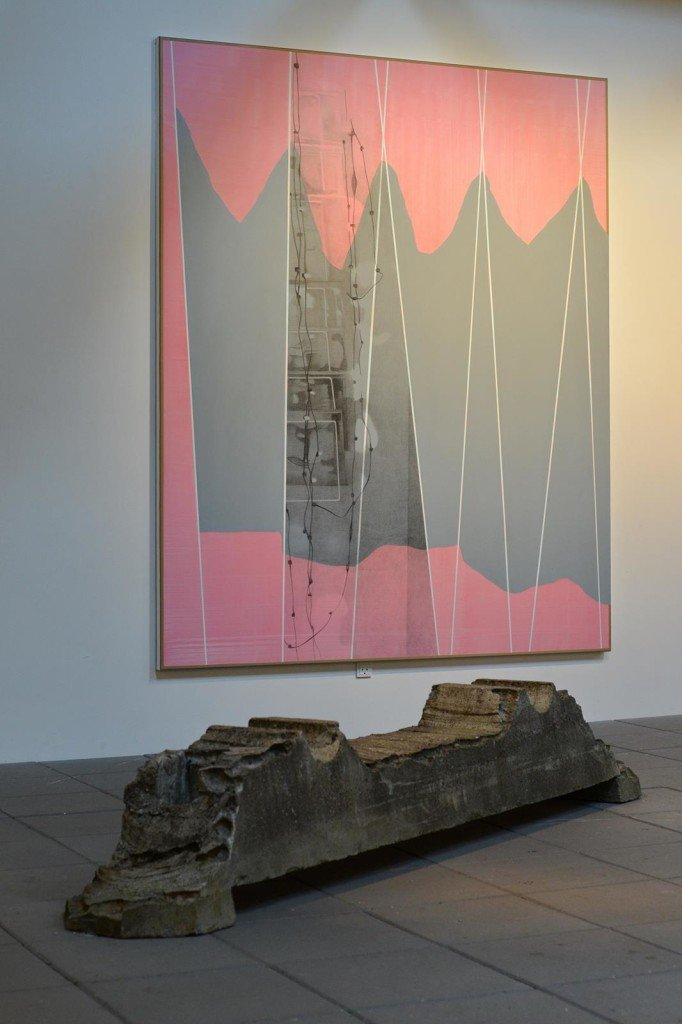 KANT TIL KANT 2016. Installationsview, Kunstpakhuset. Foto: Ole Jørgensen