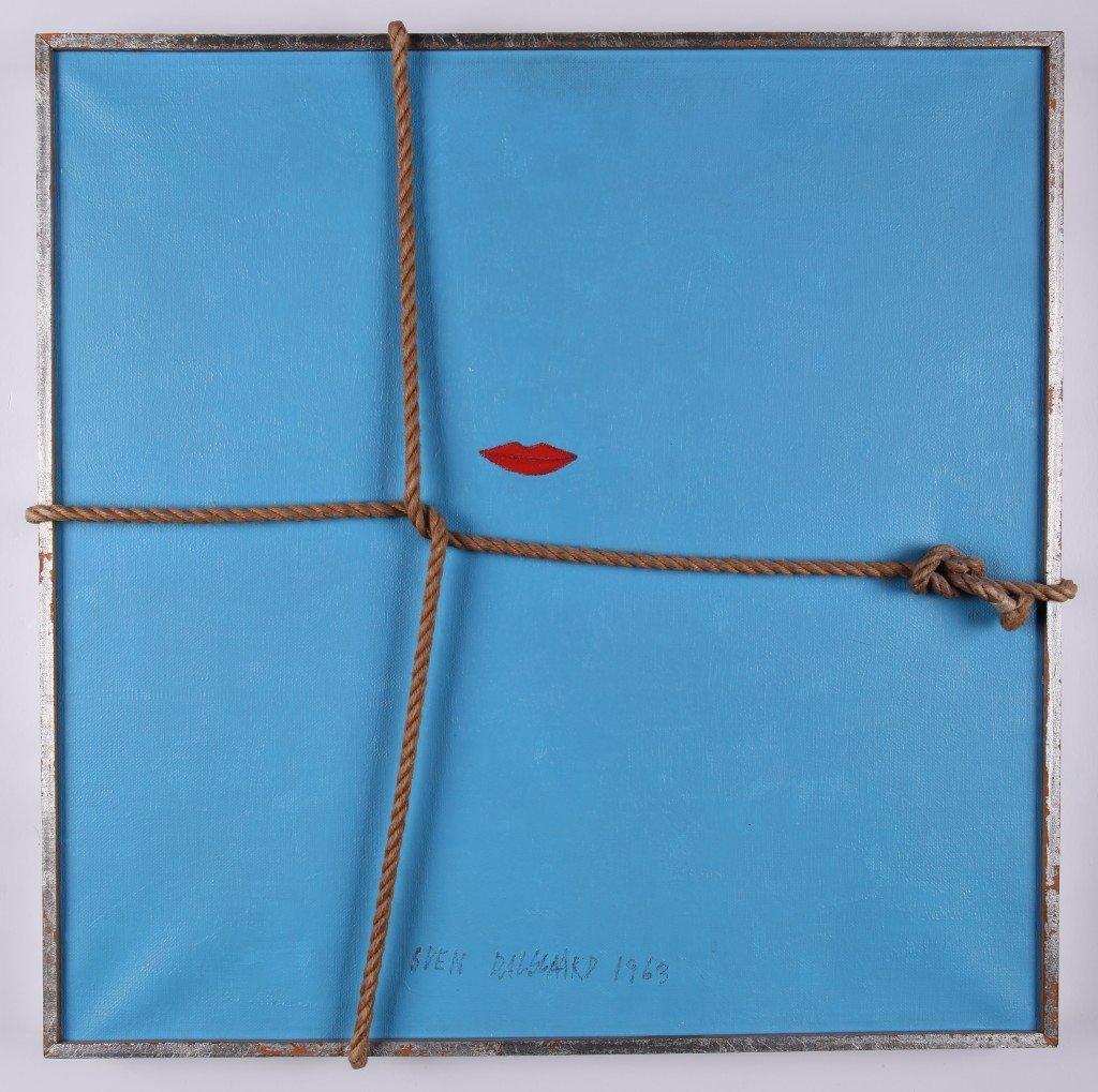 Sven Dalsgaard: Mor, 1963, mixed media 51x51 cm