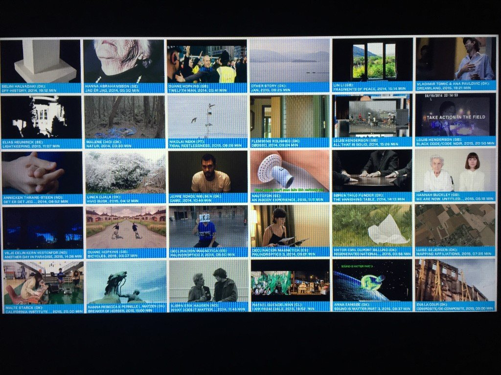 Publikum vælger selv hvilke værker de vil se. Foto: Amalie Frederiksen