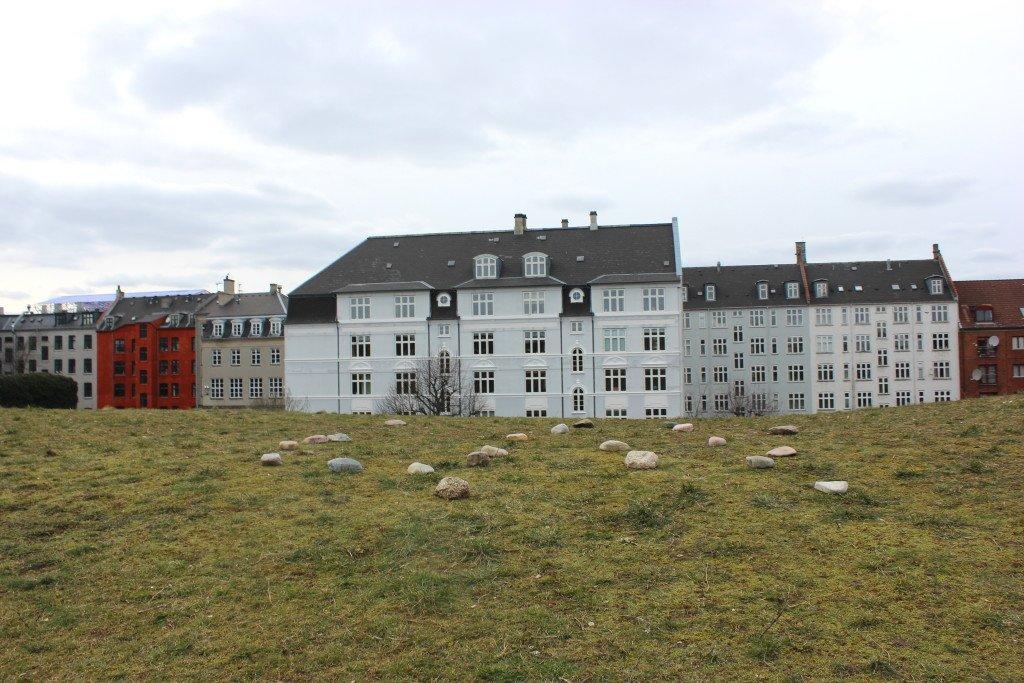 Mountain Moving Day: København, 2015. PVC Projektrum VERA. I samarbejde med musikerne Nora Fuchs, Ingibjörg Skúladóttir, Line Pilegaard og Martin Pilegaard. Foto: Maj Horn