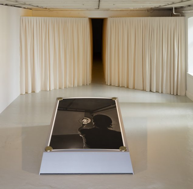 Installationsview fra Michael Würtz Overbecks udstilling Parable of Love, Overgaden, 2016. Foto: Anders Sune Berg