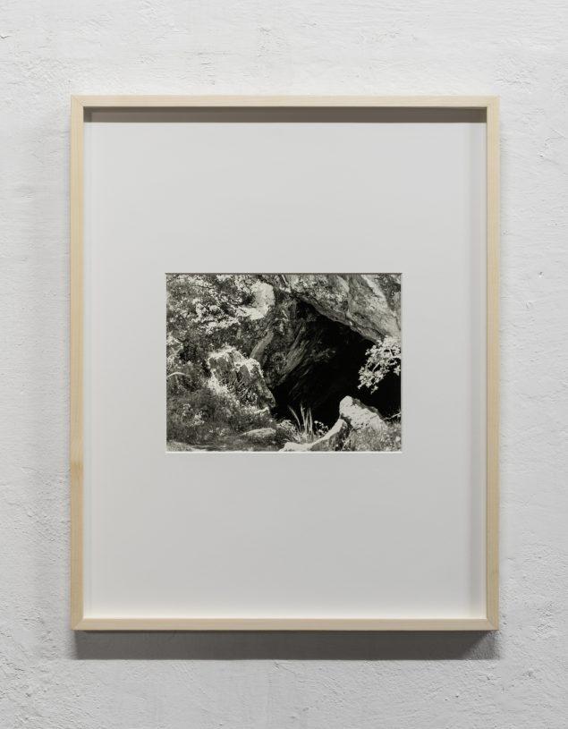 Christan Bang Jensen: Corycian Cave I, 2016. Silver gelatine print. Foto: David Stjernholm