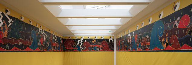 Frisen uden Arken. Installationsbillede Kunstforeningen GL STRAND. Foto: Torben Eskerod
