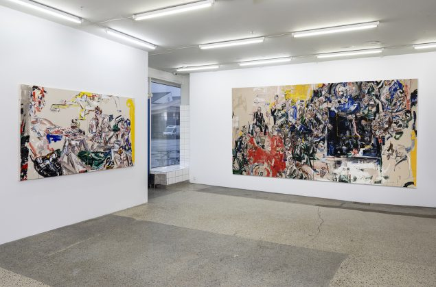 John Copeland: I Feel It My Bones, V1 Gallery, 2020, installations view. Foto: Jan Søndergaard.
