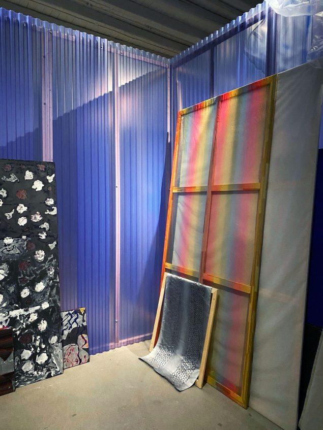 Mette Winckelmann: LAILA UTI, 2019. Installationsfoto. Foto: Viborg Kunsthal