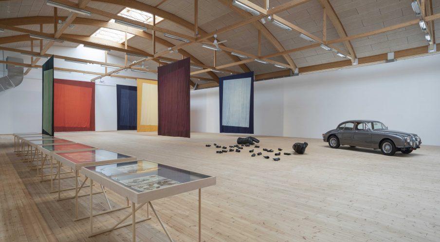 Ebbe Stub Wittrup: Botanical Drift. Installationsview Copenhagen Contemporary, 2020. Foto: Anders Sune Berg.