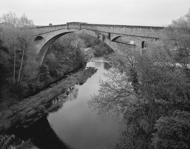 Ebbe Stub Wiitrup: Devil's Bridge #3, Pont du Diable, Céret, France, 2009-2010.