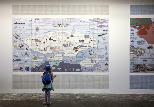 Rikke Luther Universial Map. Mesures of Uncertainty, 32nd Bienal de São Paulo Foto- Rikke Luther (1)