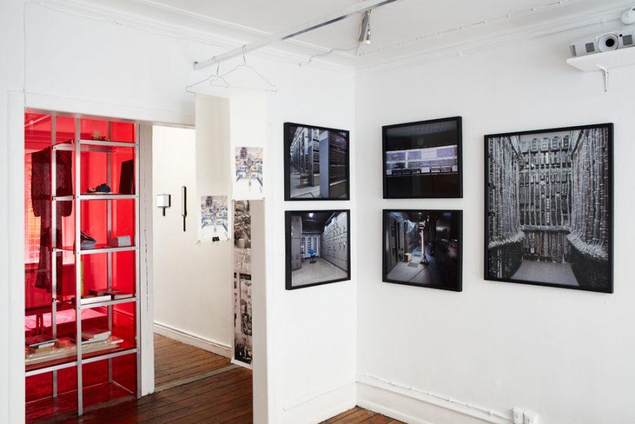 Installationsview fra <i>The Work of Living Labour af reWork</i> organiseret af SixtyEight Art Institute. Foto: SixtyEight Art Institute